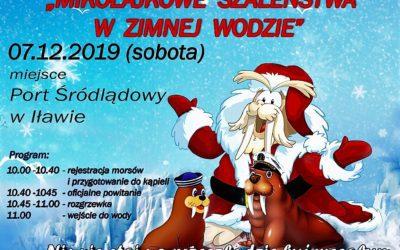 7 grudnia Mikołajkowe morsowanie w Porcie Iława