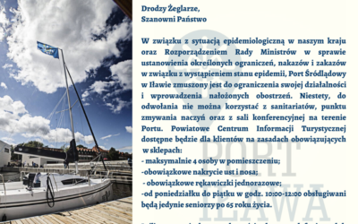 Komunikat Portu Śródlądowego w Iławie